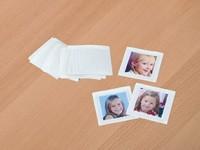 Fototaschen: 25 transparente Kunststofftaschen