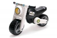 Rutschfahrzeug - Polizei-Motorrad mit zwei Rädern für Kinder