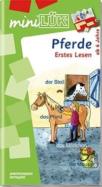 "miniLük Übungsheft ""Pferde – Erstes Lesen"""