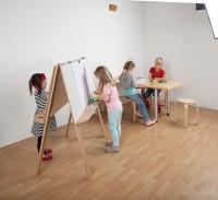 Kinder Staffelei mit 4 Plätzen