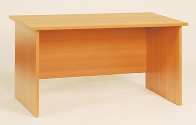 Schreibtisch mit Sichtblende, in verschiedenen Maßen