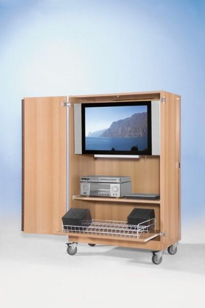 TV-Wagen für Flachbild-TV, fahrbar