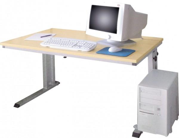 PC-Arbeitstisch, höhenverstellbar