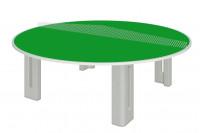 """Tischtennisplatte """"Rundlauf"""" aus Polymerbeton"""