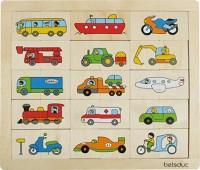 Bilderpuzzle Match und Mix - Transport