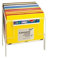 Drahtaufsteller für Bogenware im Format von 50x70 cm