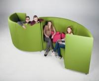 Akustik Sofa, 3 - 4 Sitzer - Baumwollbezug
