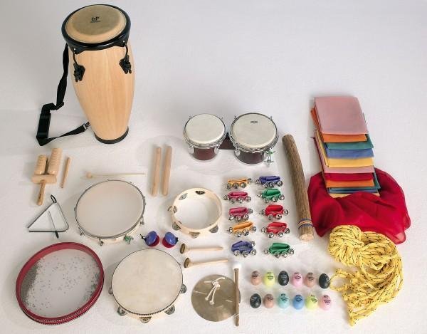 """Musikset """"MUS 20"""" - mit 31 verschiedenen Musikinstrumenten"""