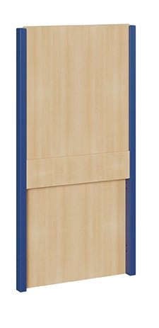 """Seitenelement für kleine Spielburgen unten und oben geschlossen verschiedene Breiten """"B, S und XS"""""""