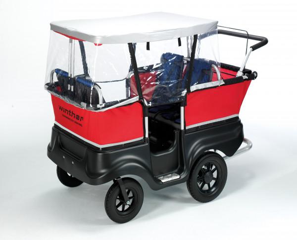 Regenschutz für Kinderbus 4-Sitzer