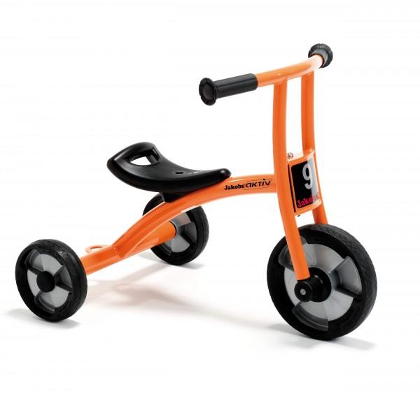 Jakobs Pushbike aktiv mit zwei Hinterrädern