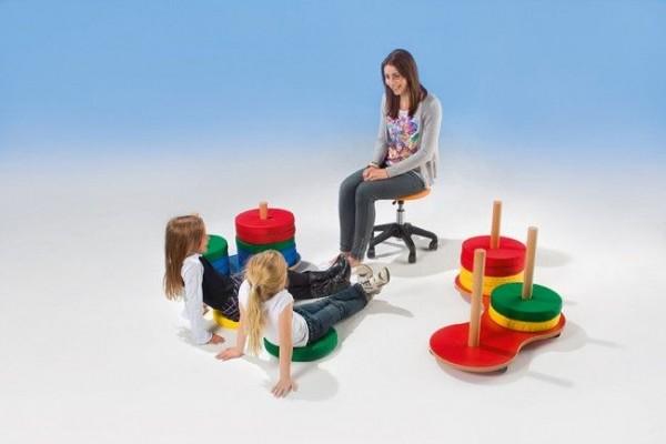 Sitzkissen für Sitzkissenwagen, 6 Stück