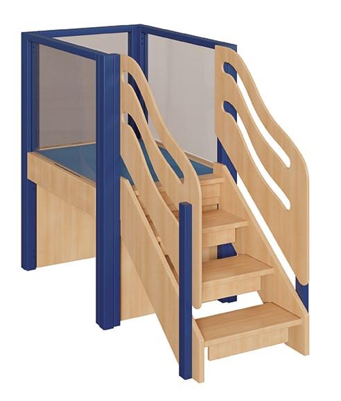 Kleine Spielburg mit Treppe