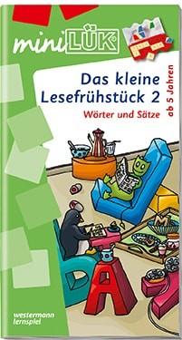"""miniLük Übungsheft """"Das kleine Lesefrühstück 2"""""""