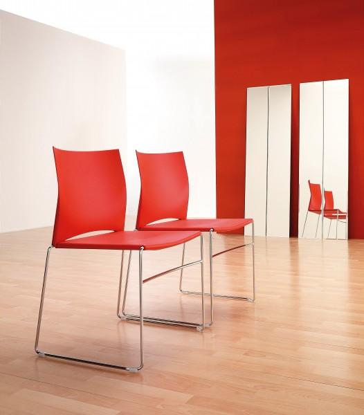 Stuhl Diane - Kunststoff