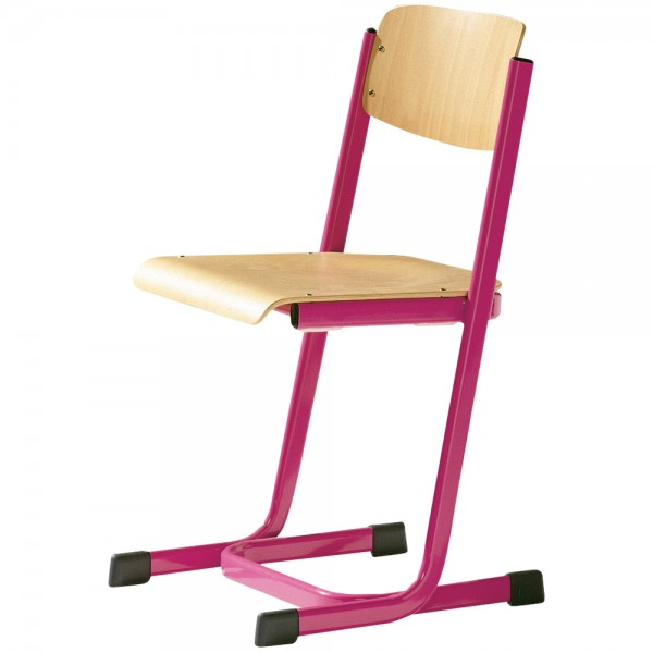 Kufenstuhl mit verstärktem Sitzträger