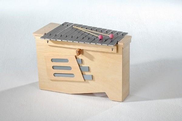 Bass-Metallophon