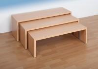 3er oder 4er Sitzbänkeset - verschiedene Höhen