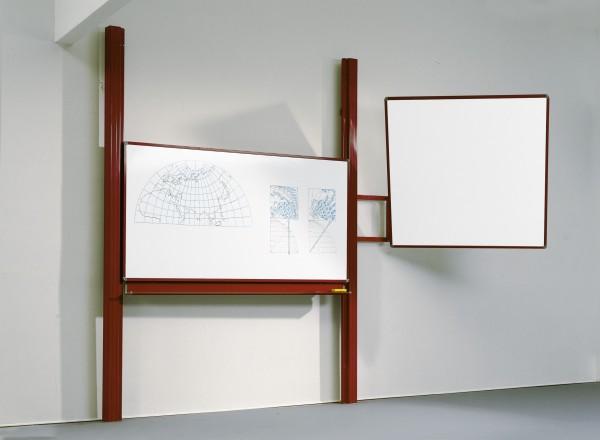 1-Flächen Pylonentafel mit Projektionswand, grün
