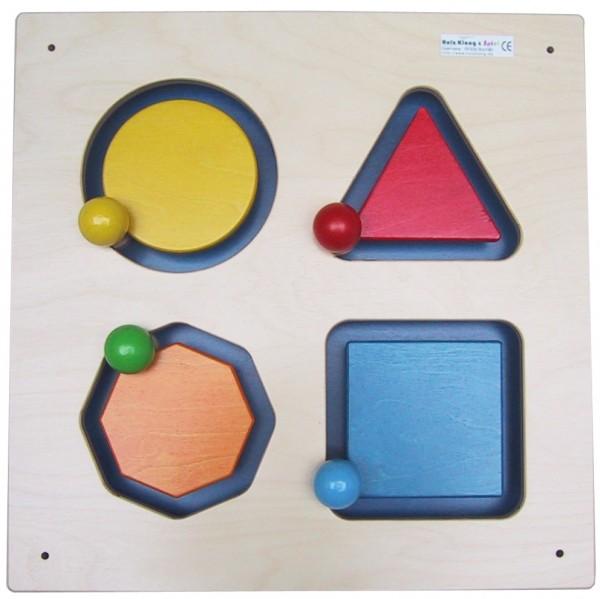Wandspiele Geometrie, Form & Farbe