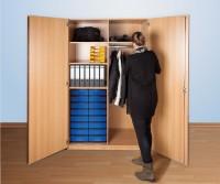 Garderobenschrank mit 16 InBoxen