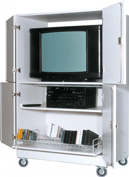 Viertüriger Medienwagen