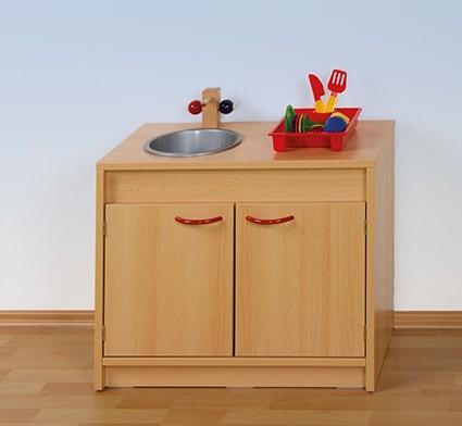 Puppen-Spülschrank, Spielspülenschrank