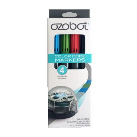 Ozobot abwaschbare Marker - verschiedene Farben