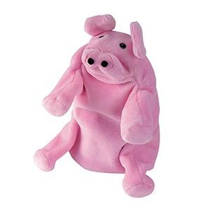 Handpuppe Schwein