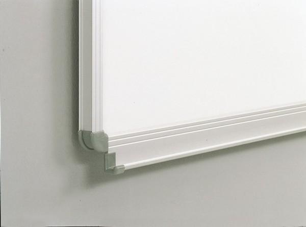 Klappschiebetafel mit weißer Tafeloberfläche