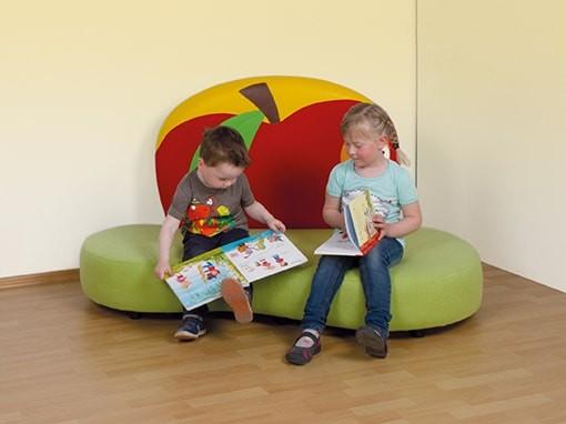Buntes Motiv-Kindersofa, verschiedene Designs