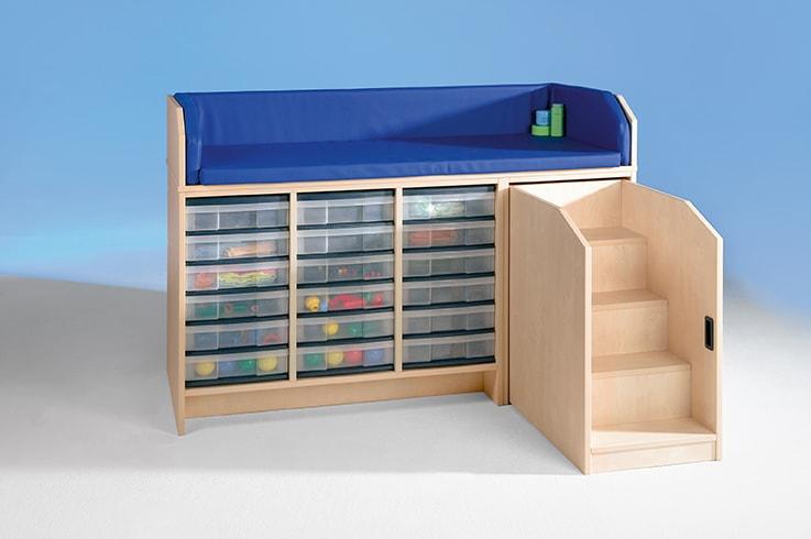 wickelkommode mit treppe online bestellen. Black Bedroom Furniture Sets. Home Design Ideas