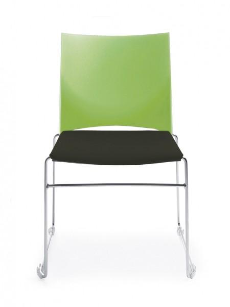 Stuhl Diane - Polster / Kunststoff