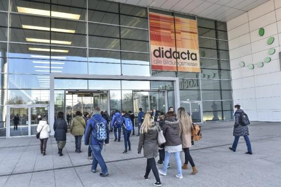 Eingangsbereich didacta