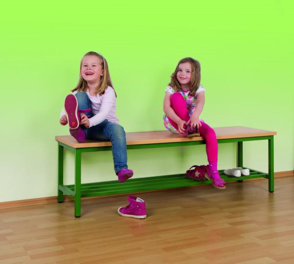 Sitzbank mit durchgehender Sitzfläche, 150 cm