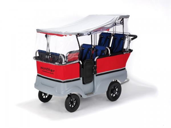 Regenschutz für Kinderbus 6-Sitzer