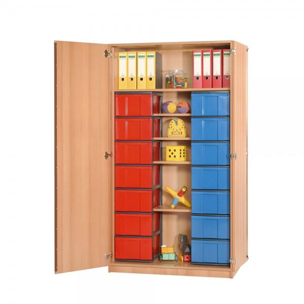 InBox Schrank mit 14 oder 28 InBoxen