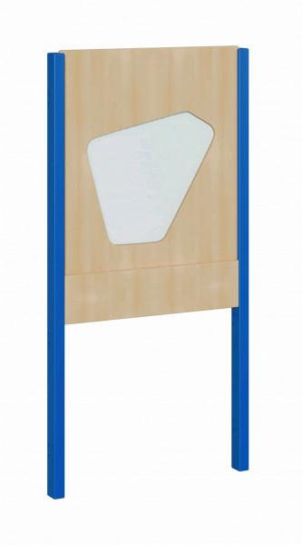 """Seitenelement für kleine Spielburgen, unten offen, oben 5-Eck mit Plexiglas, verschiedene Breiten """"B"""