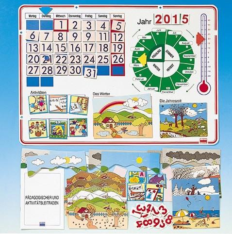 Jahreskalender für den Kindergarten