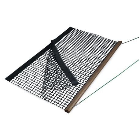 Holz-Schleppnetz PVC doppelt