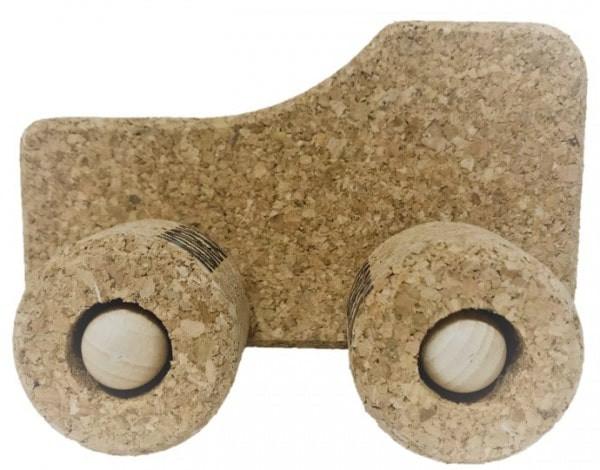 """KORXX - Spielzeug-Auto """"Traktor"""" aus Kork"""