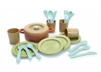 BIO PLAST - Kochset und Essservice für Kinder 22 tlg.