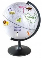 Der beschreibbare Globus