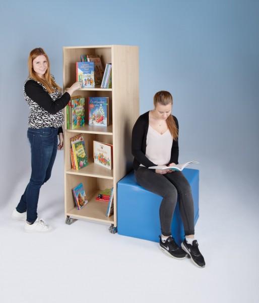 Fahrbarer Bücher- & Ordnerturm
