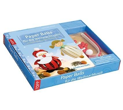 Kreativ-Set Paper Balls für die Weihnachtszeit