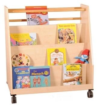 Fahrbarer Etagen-Bücherwagen