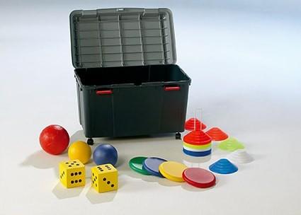 Sportbox mit Spielpaket 1