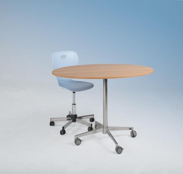 Elliptische Tischplatte