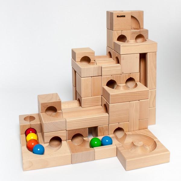"""Holzkugelbahn """"im Kasten"""" Größe M"""