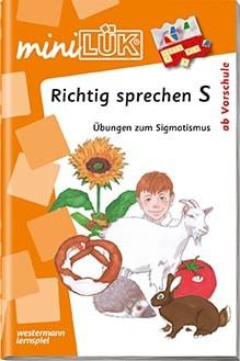 "miniLük Übungsheft ""Richtig sprechen S"""
